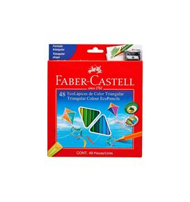 Faber-Castell - Ecolápices de color x 48
